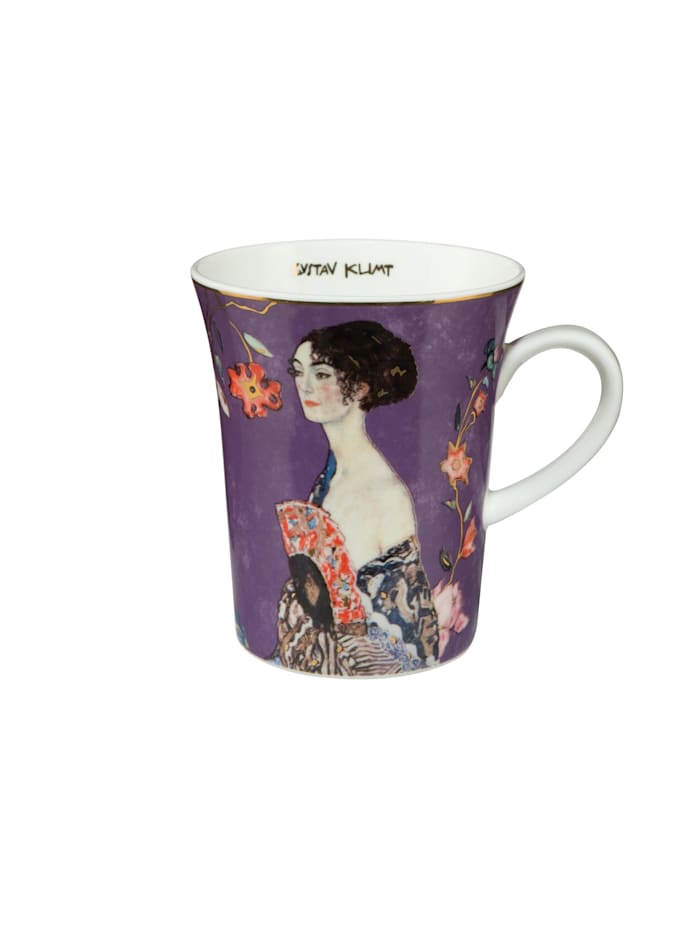 Goebel Goebel Künstlertasse Gustav Klimt - Dame mit Fächer, Klimt - Dame mit Fächer
