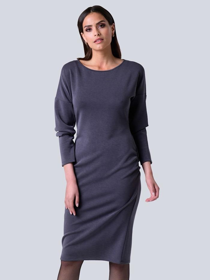 Alba Moda Kleid aus formstabilem Jersey, Grau