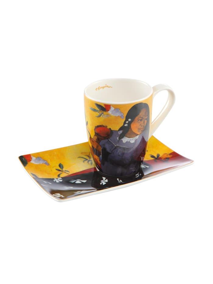 Goebel Goebel Künstlertasse Paul Gauguin - Frau mit Mango, Gauguin - Frau mit Mango