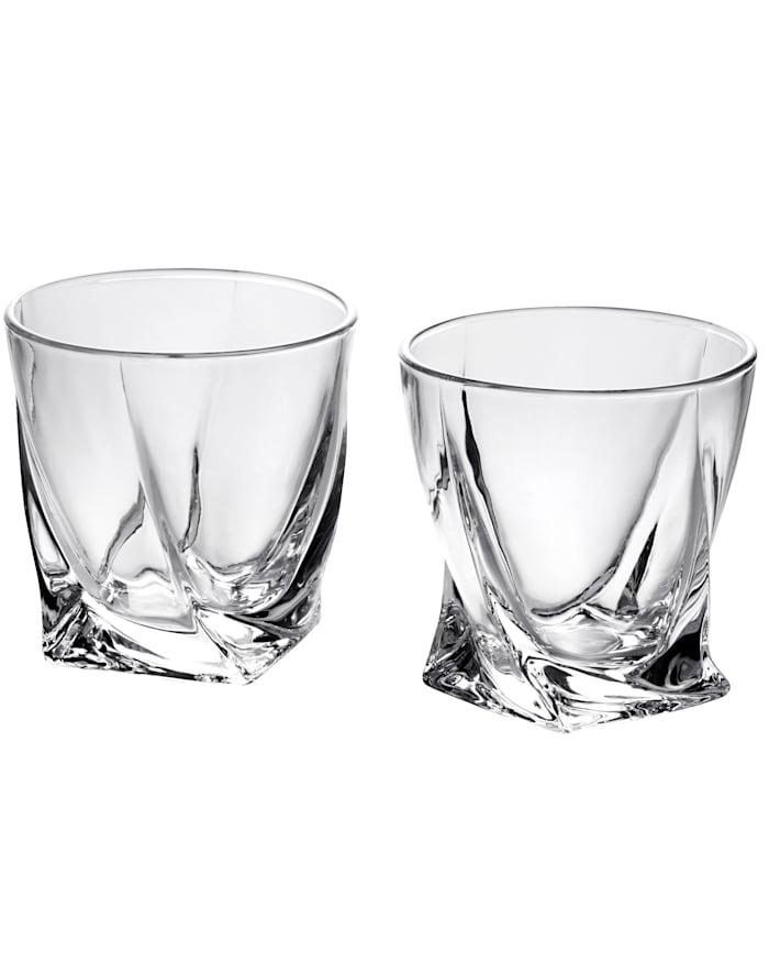 BABISTA Set van 2 whiskyglazen, Zonder kleur