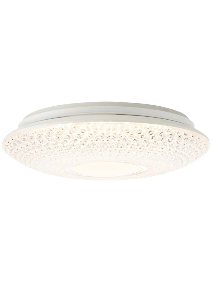 Brilliant Lucian LED Deckenleuchte 41cm weiß, weiß