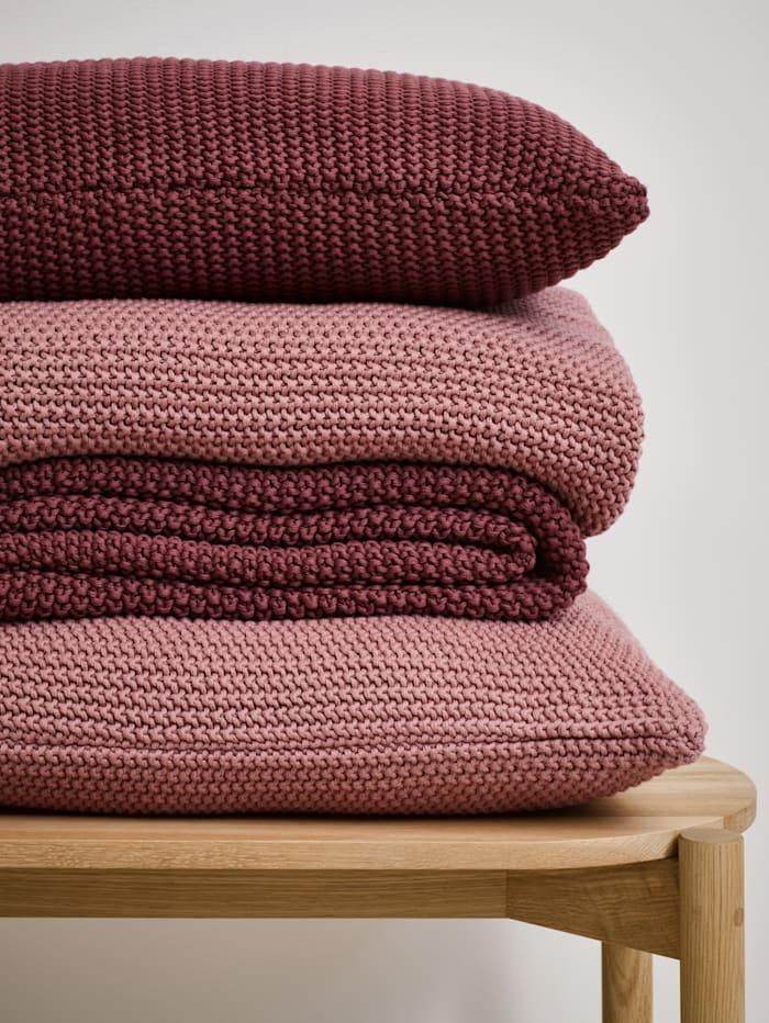 Plaid 'Nordic knit'