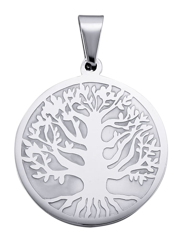 Magnetic Balance Přívěsek Strom, Stříbrná