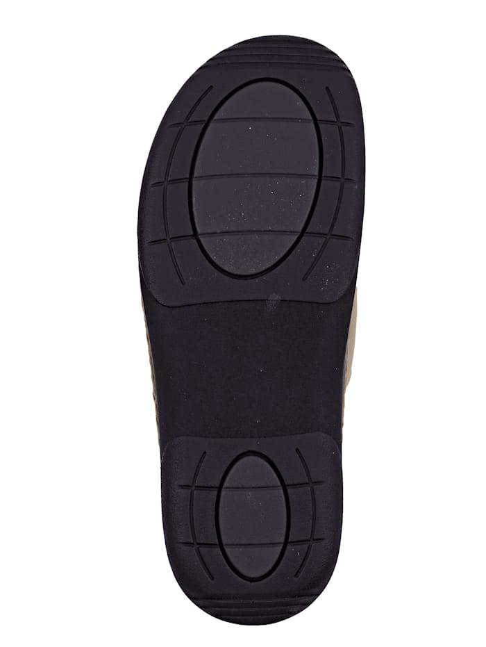 Nazouvací obuv s koženou podšívkou