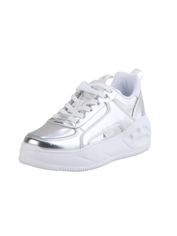 Buffalo Sneaker Flat SMPL 2.0, silver