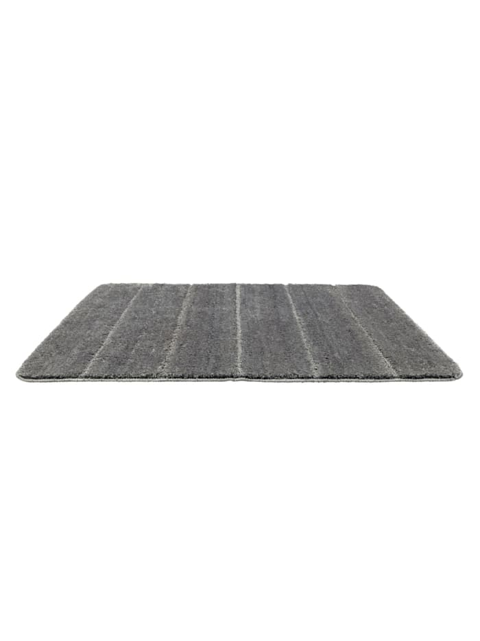 Badteppich Steps Mouse Grey, 60 x 90 cm, Mikrofaser