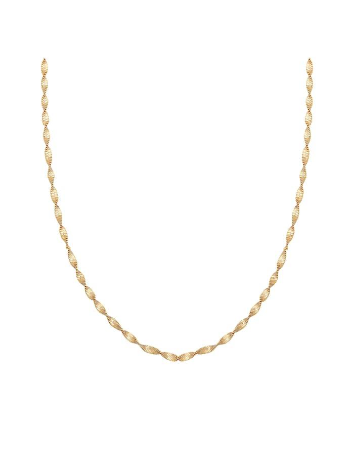 CAI Collier 925/- Sterling Silber ohne Stein 38+5cm Glänzend, gelb