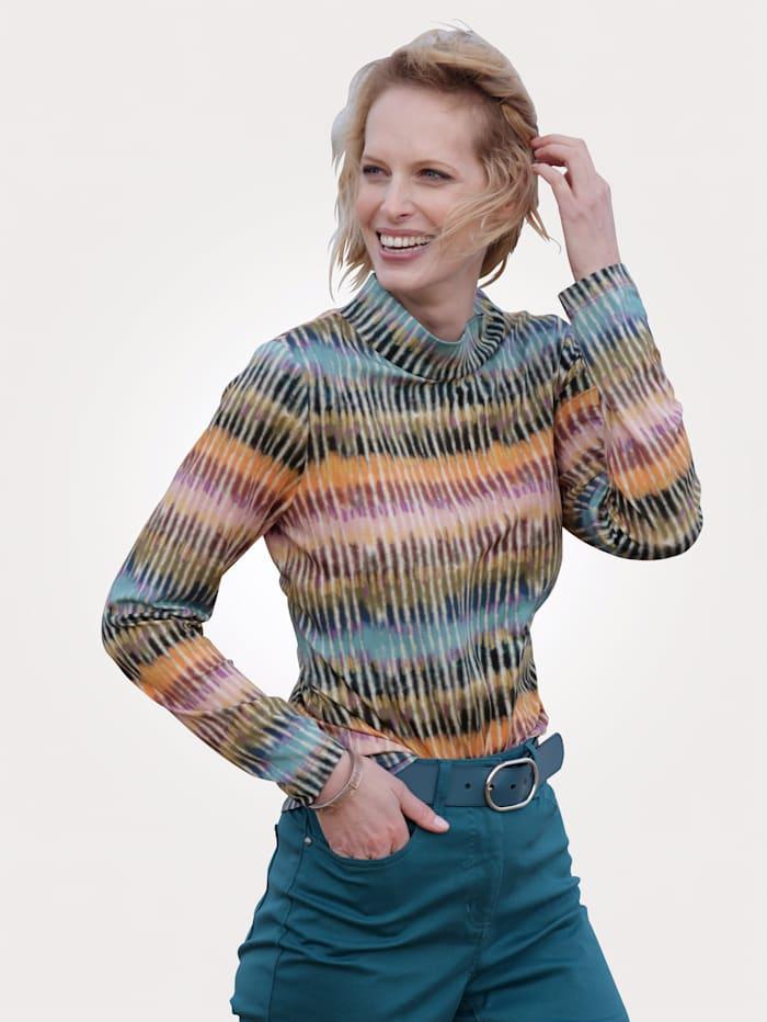 MONA T-shirt à imprimé de grand effet, Multicolore