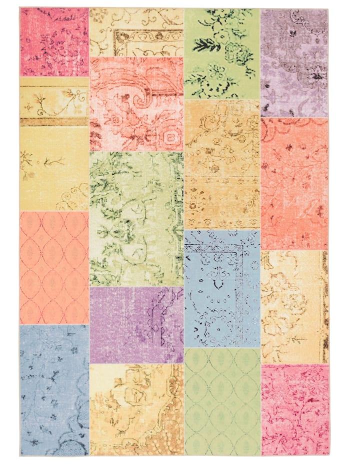Pergamon Luxus Vintage Designer Teppich Primus, Bunt