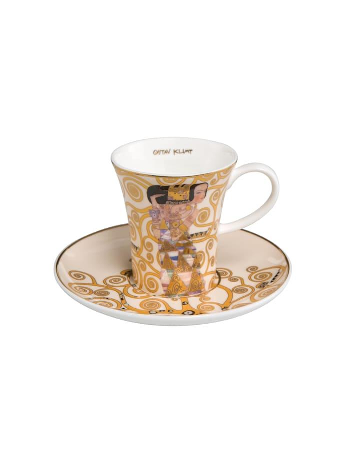 """Goebel Goebel Espressotasse Gustav Klimt - """"Die Erwartung"""", Klimt - Erwartung"""