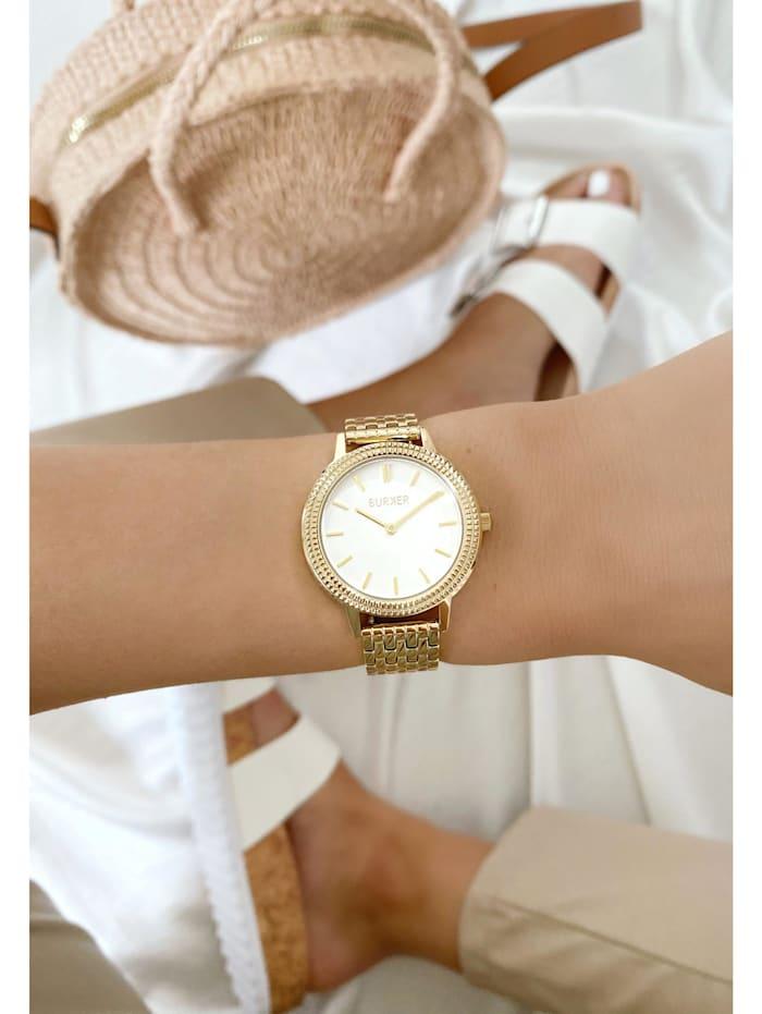 Uhr Lucy Gold White