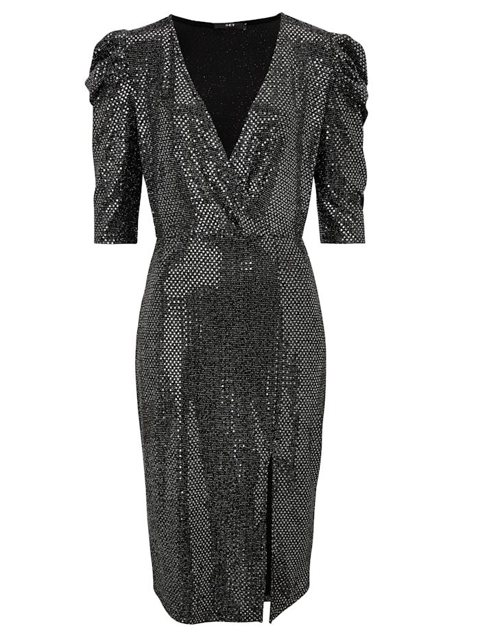 SET Kleid, Silberfarben