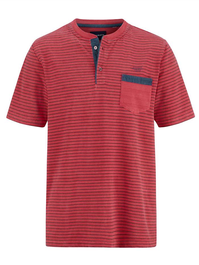 BABISTA T-shirt Imprimé et délavé, Rouge