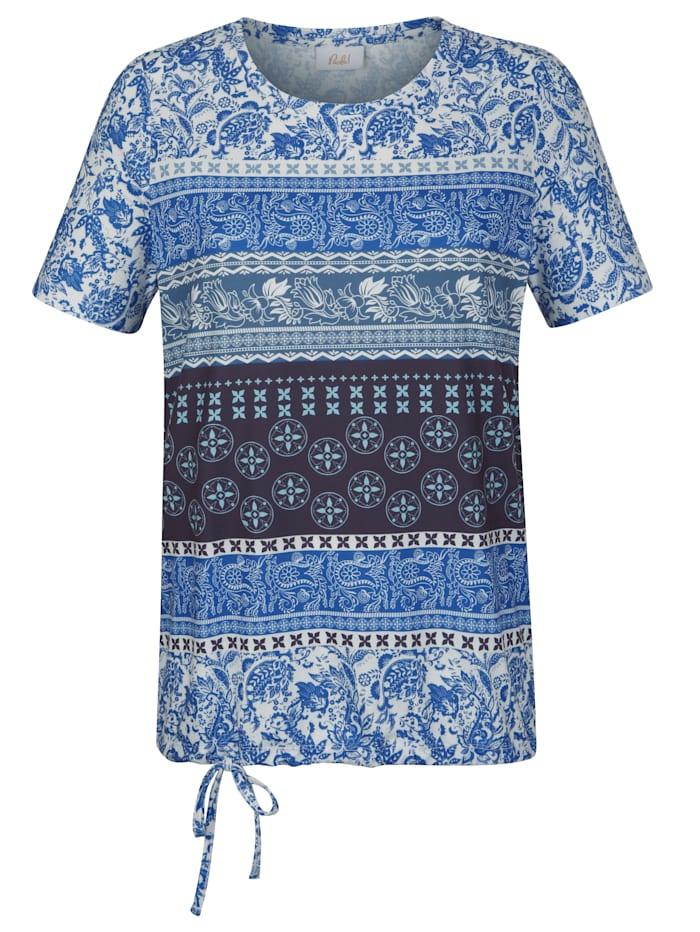 Tričko s vázačkou na ukončení