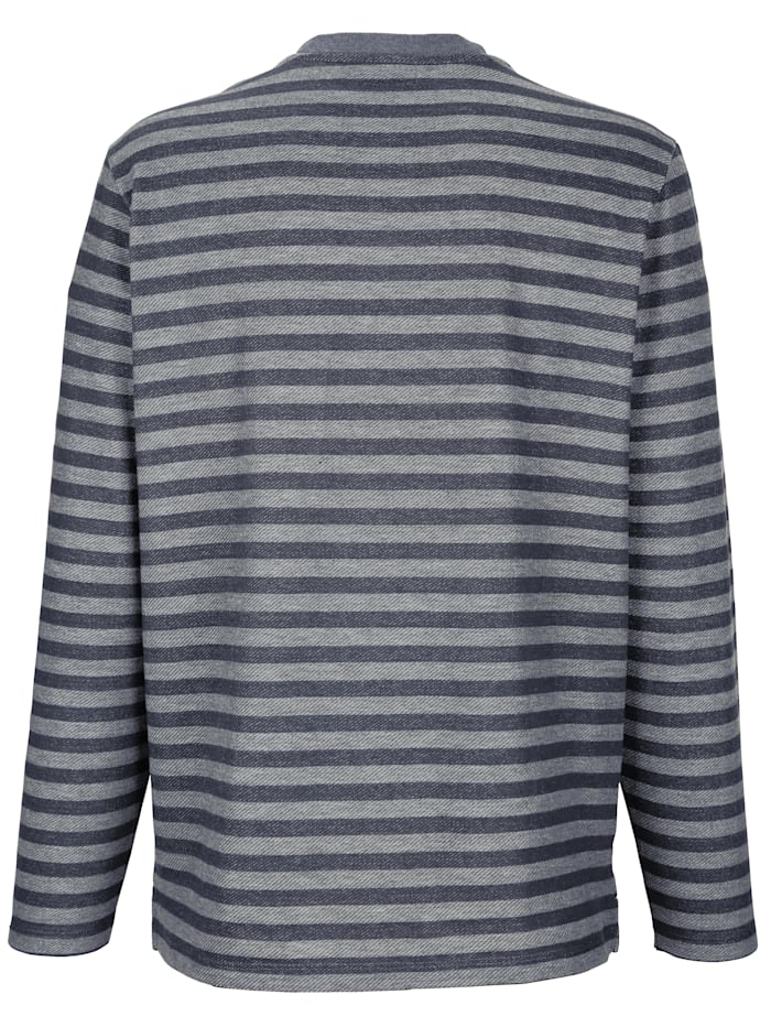 Sweatshirt met V-hals