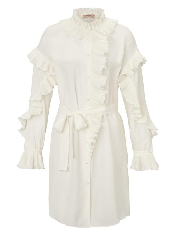 Twinset MILANO Kleid, Weiß
