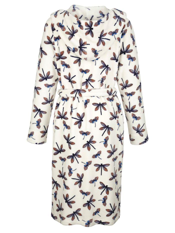 Badjas van heerlijk zacht fleecemateriaal