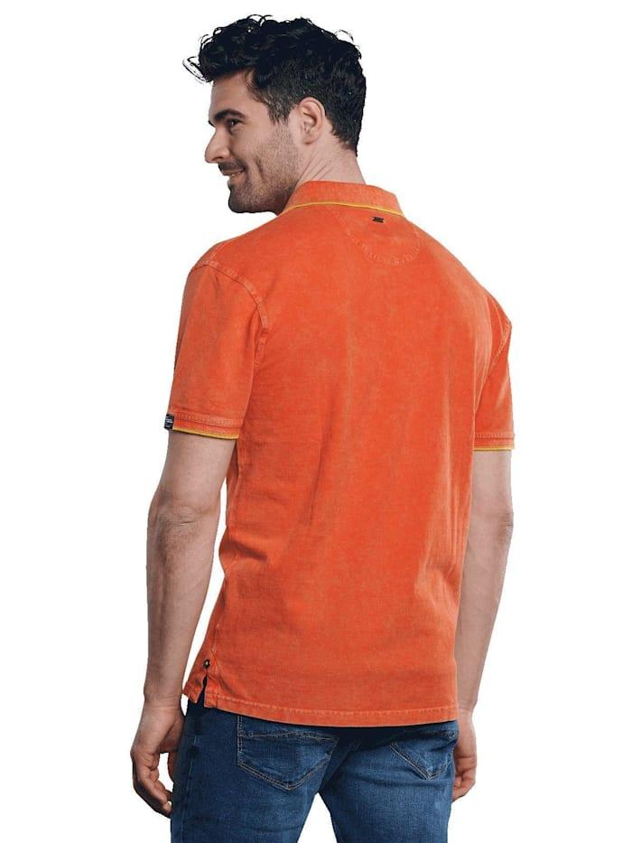 Poloshirt mit sportiven Details