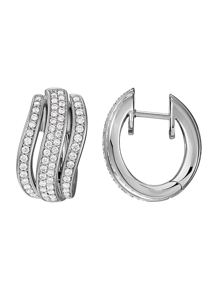 CHRIST Diamonds Damen-Ohrstecker 585er Weißgold 132 Diamant