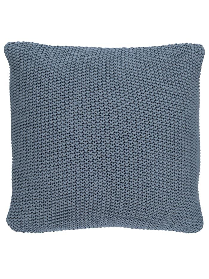 Marc O'Polo Dekokissen 'Nordic knit', Blue
