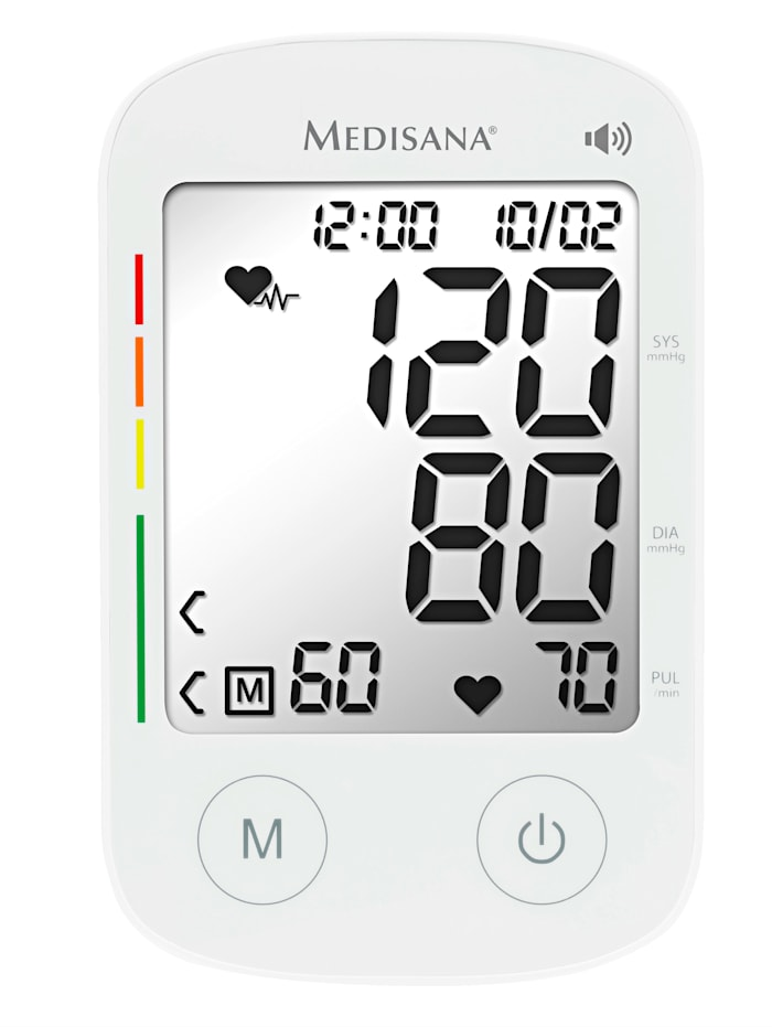 Medisana Oberarm-Blutdruckmessgerät BU 535, weiß