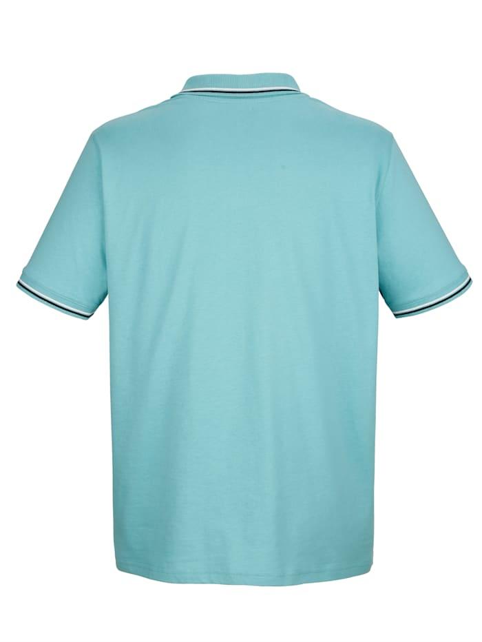 Poloshirt mit Druckmotiv im Vorderteil