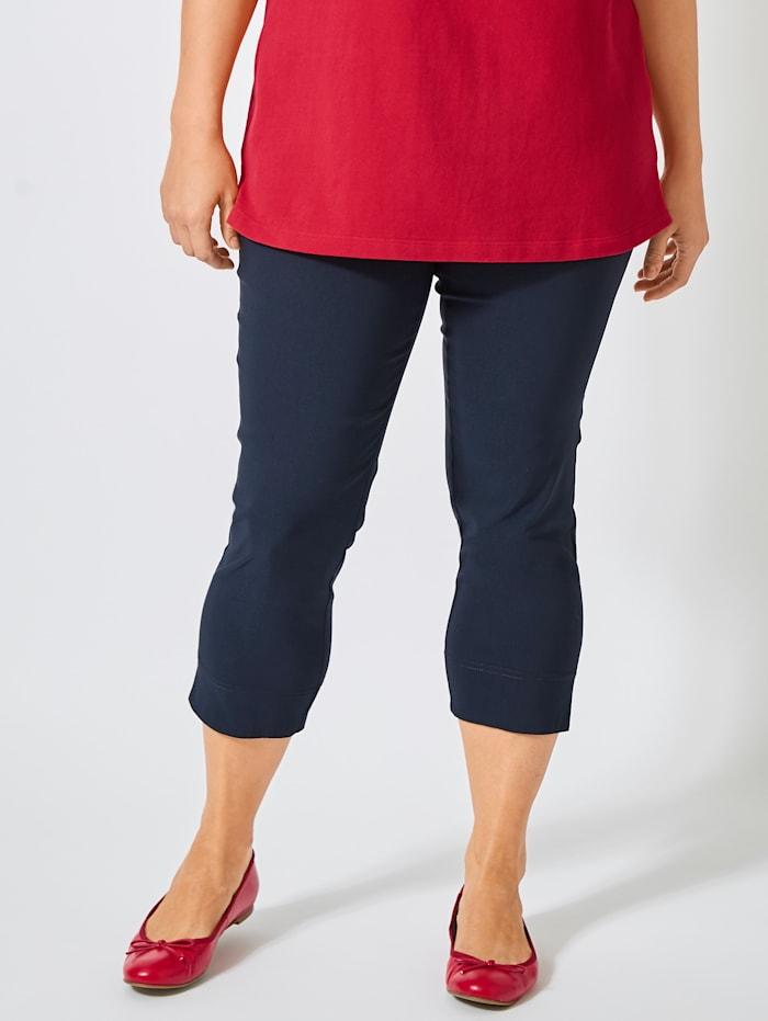 Sara Lindholm Schlupfhose mit praktischen Taschen, Marineblau