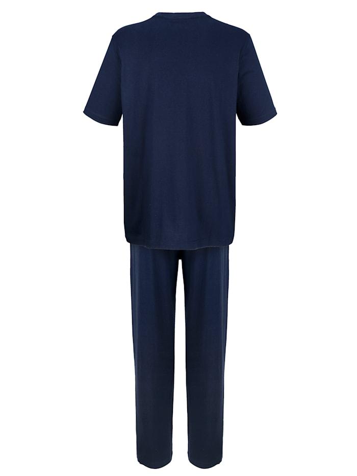 Pyjama in klassieke kleuren