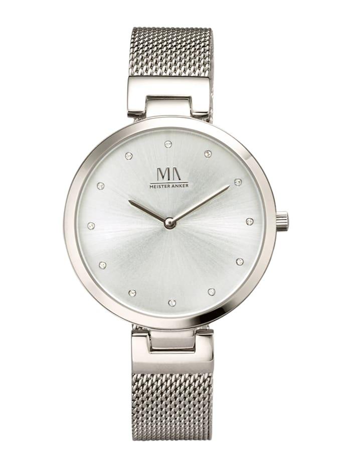 Meister Anker Dámské hodinky, Stříbrná