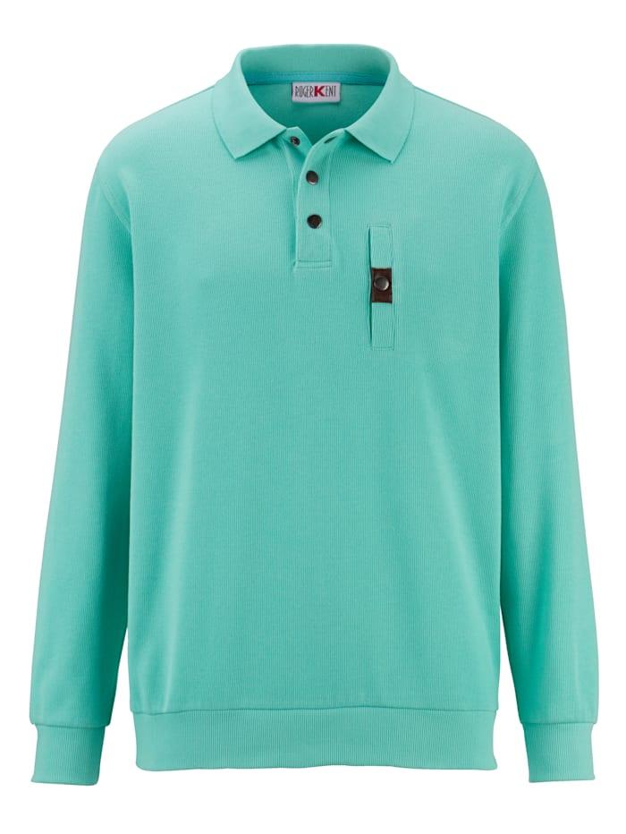 Roger Kent Sweatshirt med bröstficka, Mint