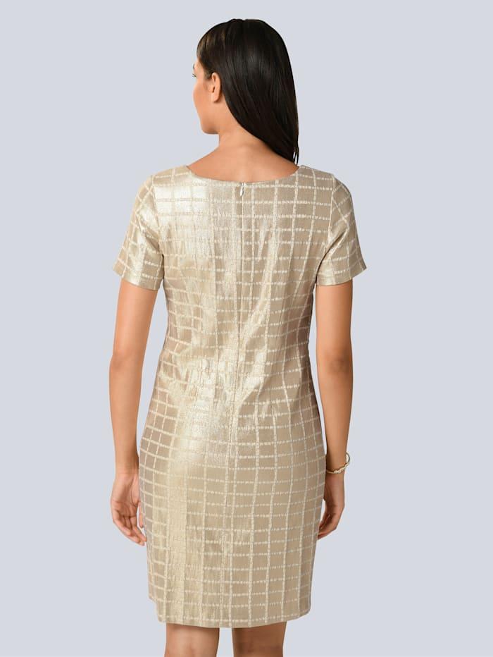 Kleid allover mit edlem Glitzer-Effekt