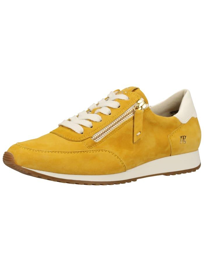 Paul Green Paul Green Sneaker, Weiß/Gelb