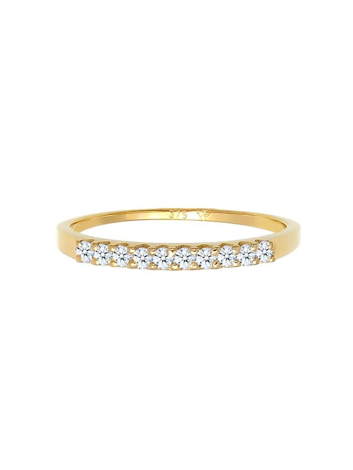 Ring Microsetting Diamant (0.15 Ct.) 375 Gelbgold