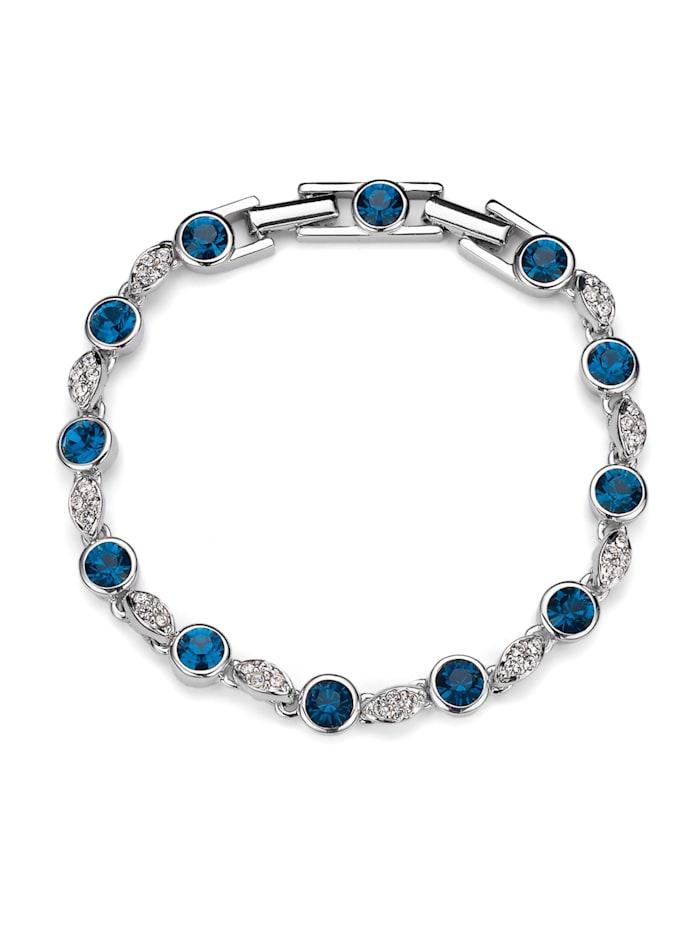 Oliver Weber Armband Between, blau