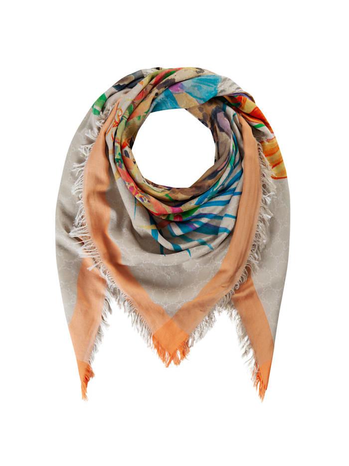 Codello Premium Leo-Tuch aus Baumwolle und Modal, orange