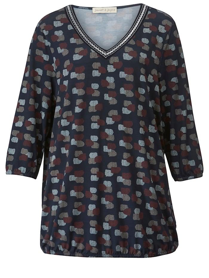 Shirt mit Dekoband