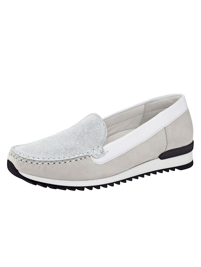 Waldläufer Moccasins, Grey