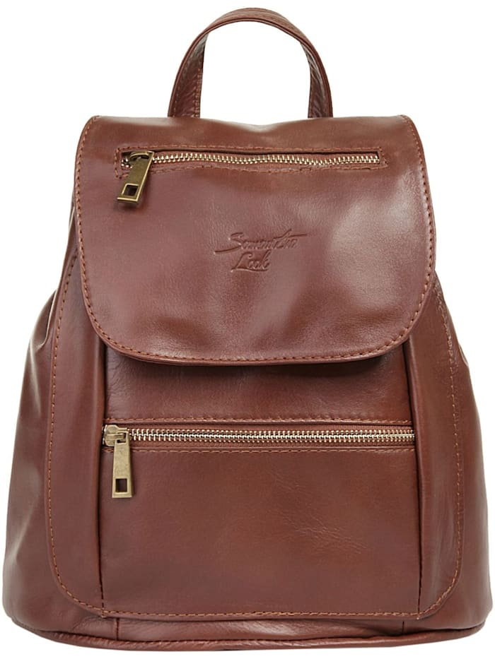 Samantha Look Rucksack City, braun