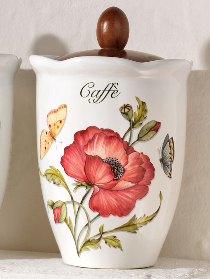 Nostalgisk boks for kaffe -Giardino Botanico-
