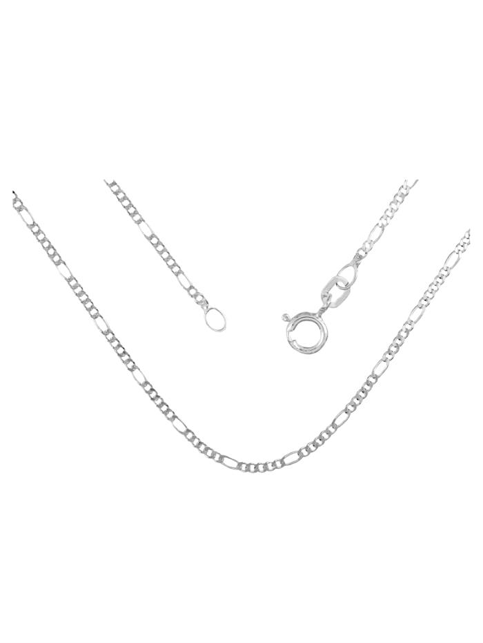 Grazielli Figarokette, Silberfarben
