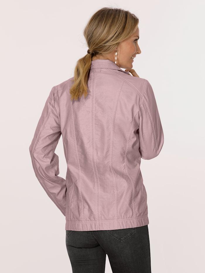 Kiiltäväpintainen takki