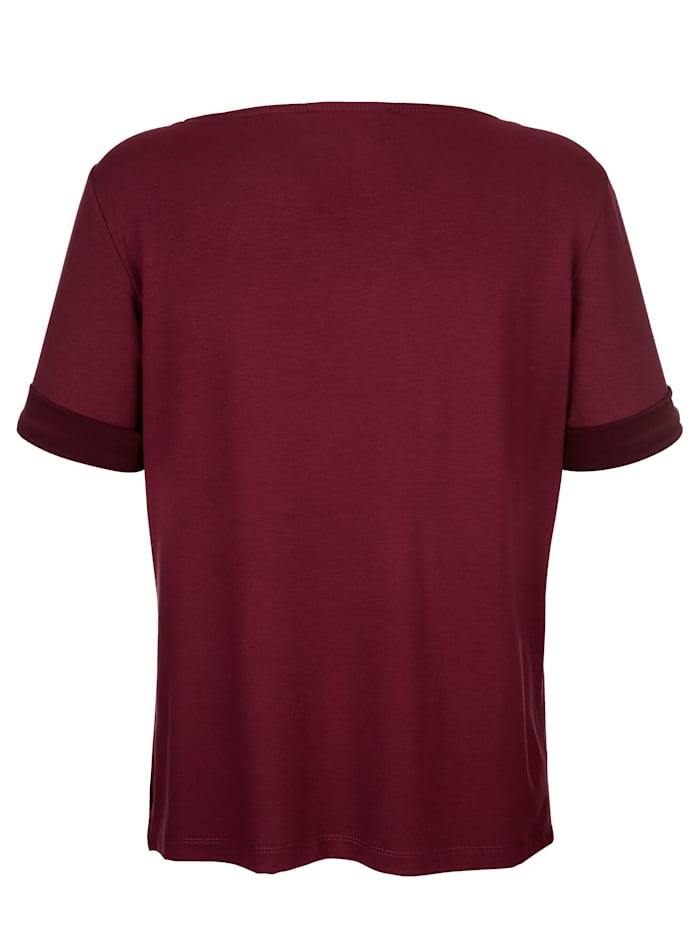 Shirt mit Ärmelaufschlag