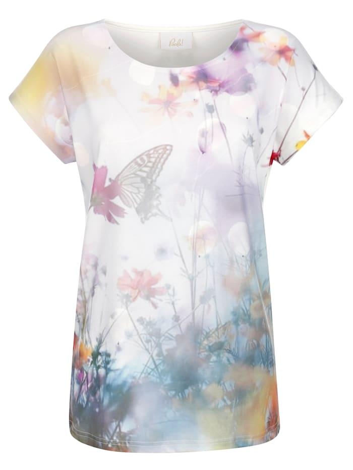 Paola Shirt met print, Multicolor