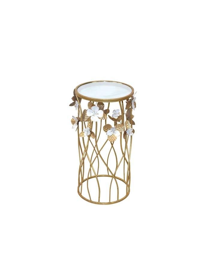 Möbel-Direkt-Online Beistelltisch Roland, Gold