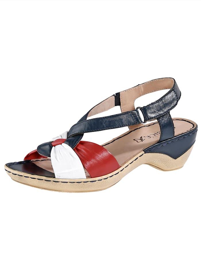 Caprice Sandals, Blue