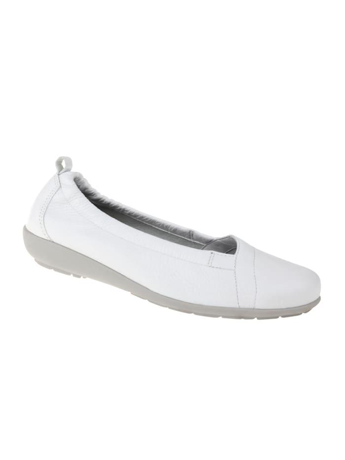 Natural feet Ballerina Polina, Weiß