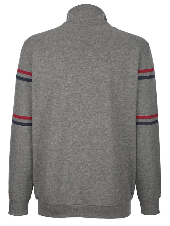 Sweatshirt mit Kontrastdruck