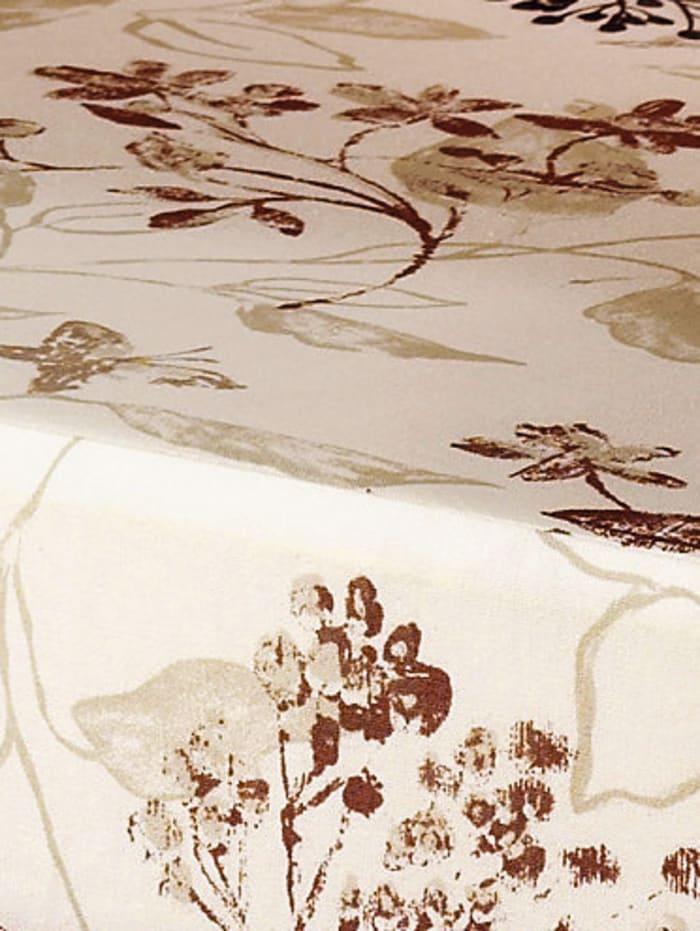 K & N Schurwolle Stoelverhoger met scheerwol, Gebloemd