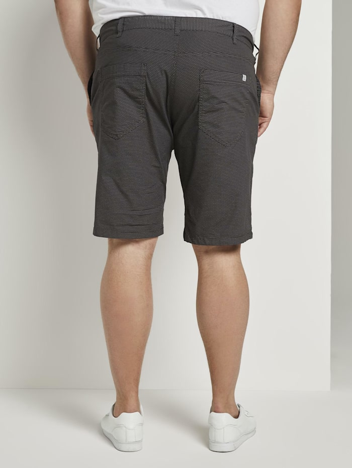 Gemusterte Josh Regular Slim Bermuda-Shorts