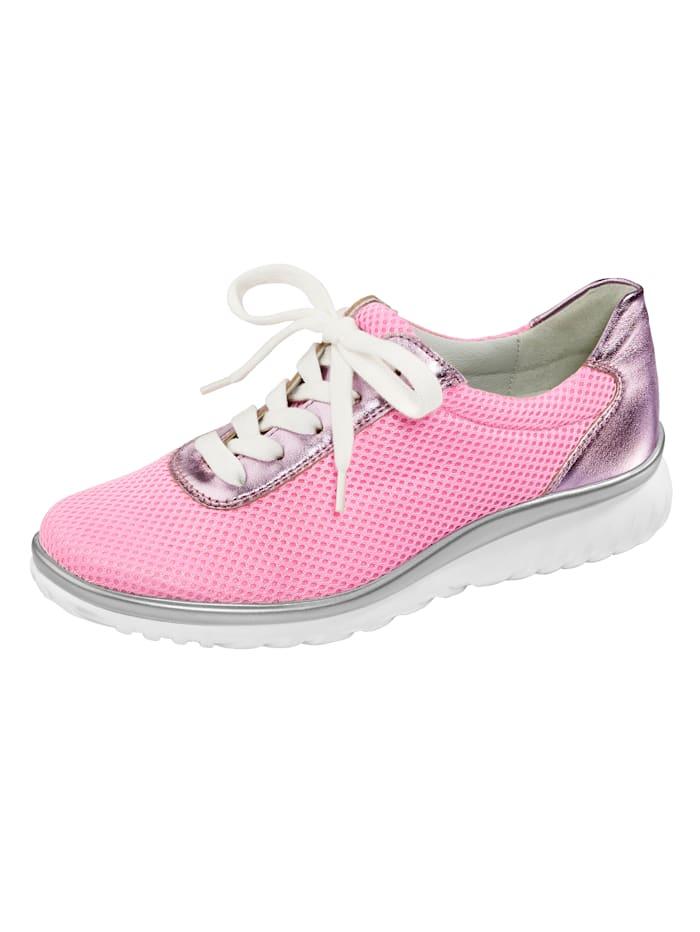 Naturläufer Schnürschuh, Pink